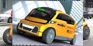 bentuk taksi masa depan