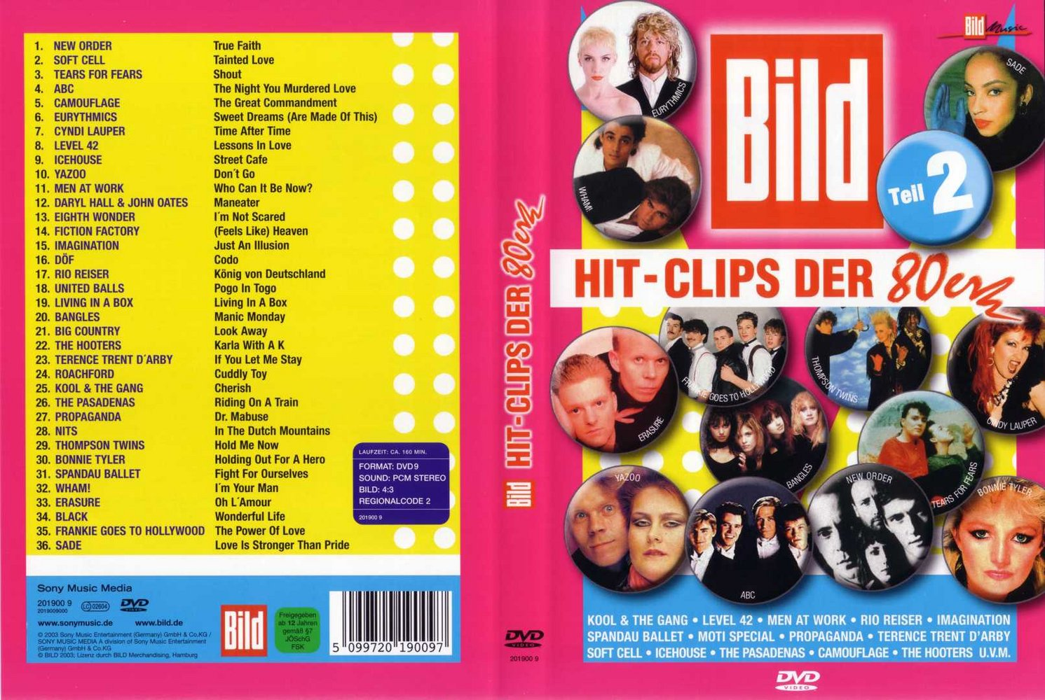 Videoclips en RMVB: Bild Music Hits Vol 2