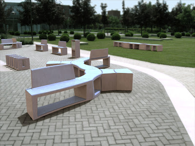 Modular Urban Furniture