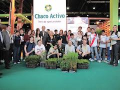 los jóvenes promotores de Escuela de Comercio nº 34 visitan la Cumbre de Forestación