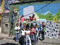"""Primer Puesto: Mural: Tamesis """"Antioquia"""""""