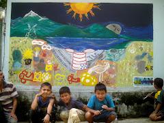 """Primer Puesto: Mural: """"Llanto del Manantial"""""""