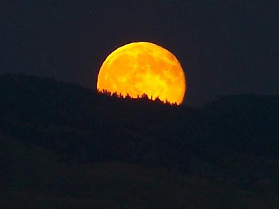 Full Moon Idaho Full Moon Rising Star Idaho