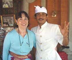 Islene Pinder and Anom Putra