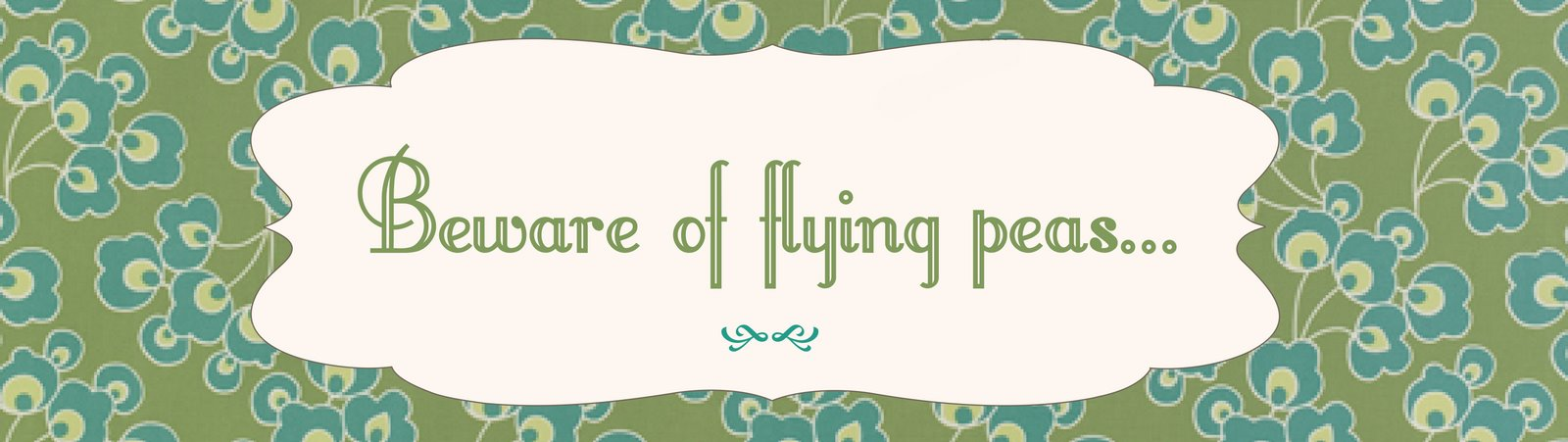 Beware of Flying Peas