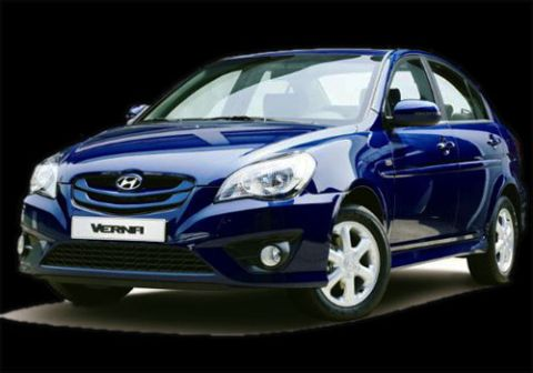 TIMES 24 NEWS  New Hyundai Verna 2010  Price in India  version