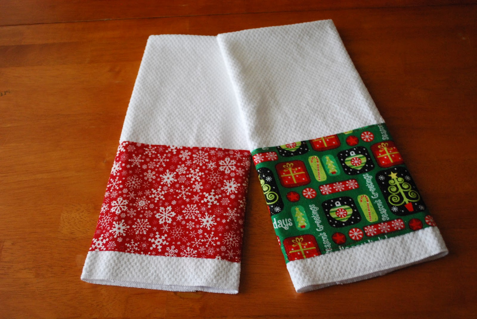Kitchen Towel Craft Christmas Towels A Pumpkin And A Princess