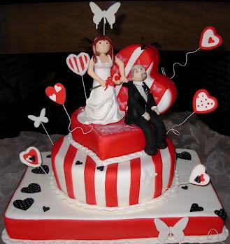 o meu primeiro bolo de noiva