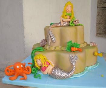 Mais um bolo para a filhota Catarina