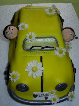 bolo do carro (carocha)