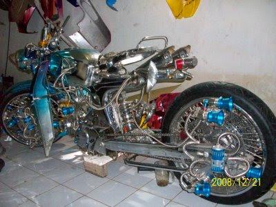 Gambar Modif Motor Keren - Info Motor