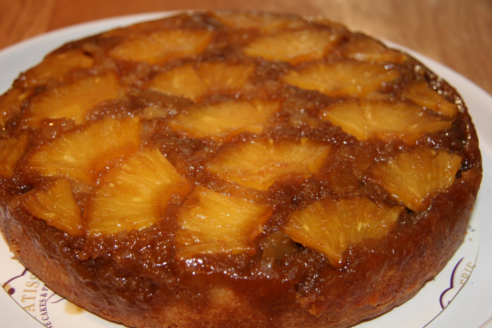 sweet: Right Side Up: Ginger Pineapple Upside-Down Cake
