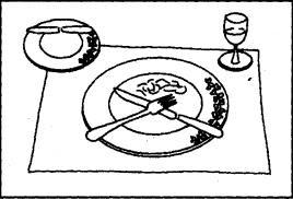 Davmo zone il galateo a tavola - Galateo a tavola posate ...
