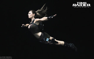 Alison Carroll as Lara Croft Model