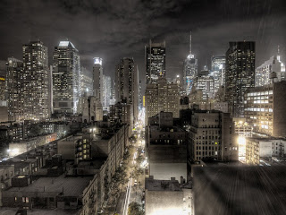 New York at Night wallpaper and photo