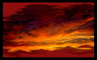Abstract Sunset wallpaper and photo