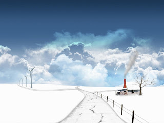 3D Winter Wallpaper