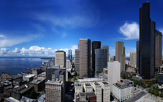 Seattle Town wallpaper