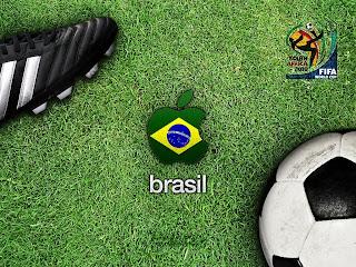 brasil at world cup 2010 wallpaper