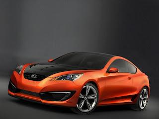 hyundai Genesis Coupe Concept M5 wallpaper