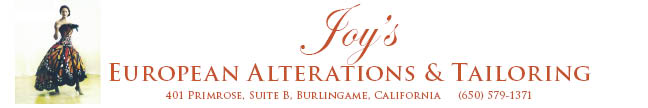 Joy's European Alterations and Tailoring