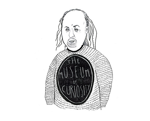 The Curator of Gallery One, Mr. Bill Bailey