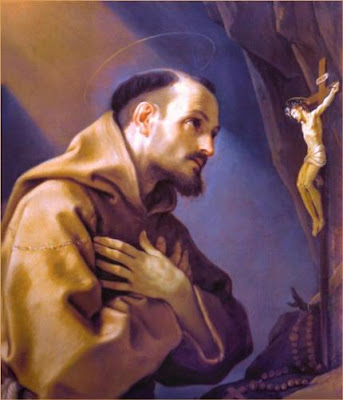 My PATRON: Saint Francis of Assisi