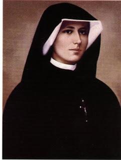 "Saint Maria Faustina Kowalska - ""Apostle of Divine Mercy"""