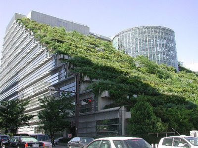 ACROS Fukoka Building Green Roof (no Not In Chicago)   Image Via Dwell ·  Dwell Mentions Again The Popularity Of Green Roofs, With A GRHC Study  Showing 2.4 ...