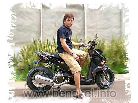 Bengkel Modifikasi Yamaha Fino