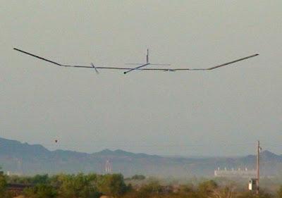 Zephyr UAV QinetiQ