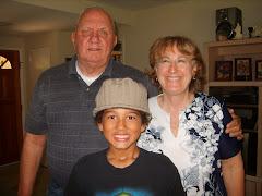 """Grandma """"Di"""" and Grandpa John came to visit."""