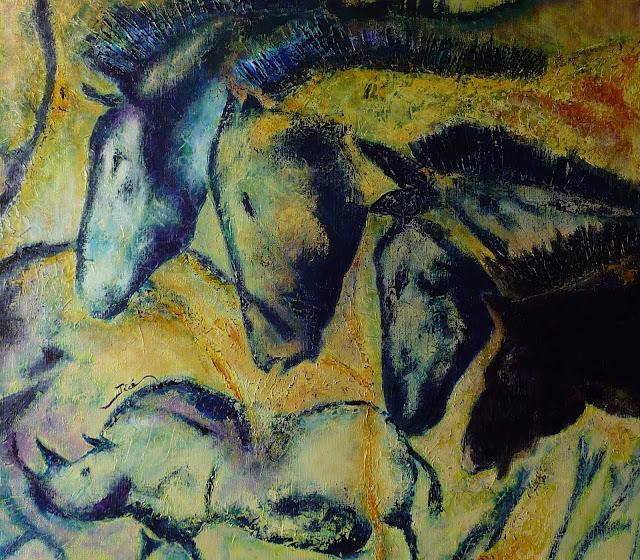 """Caballos / Chevaux  """"Grotte CHAUVET""""  - Jicé"""