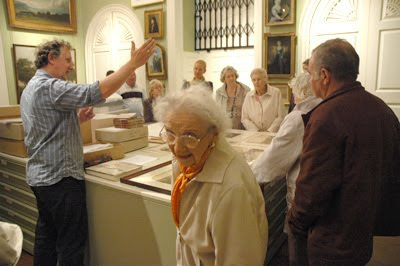 A group of Reminiscence Sessions attendees at Harewood House