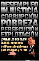 UNA VEZ MAS EL APRA CON EL MISMO CUENTO DE LA PRIMER GOBIERNO