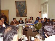 VAPUMAS con la Comisión de Minería, Medio Amb. y Recursos Nat. del Senado de Salta