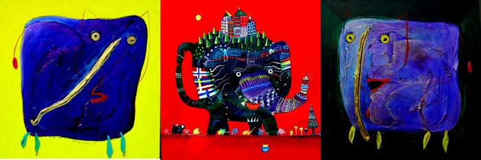 Yusof gajah painting