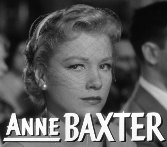 A anne baxter for Famous black and white christmas movies