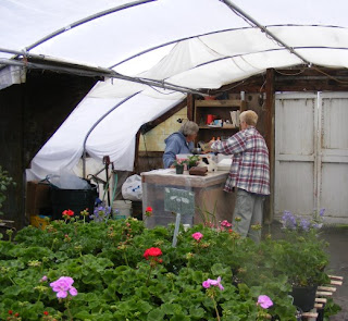 Farmer JoAnn and Customer