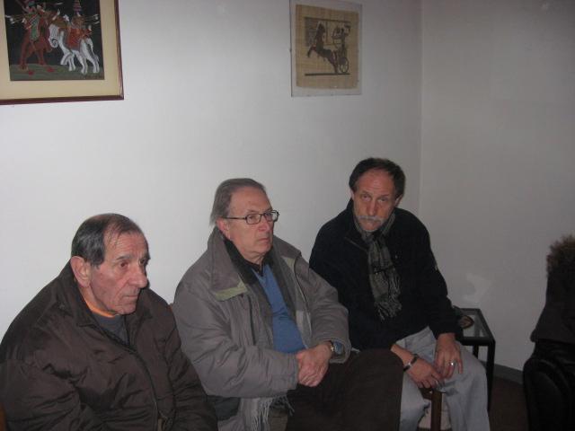 Alcuni esponenti della Rete Giambellino e dell'ACR Zanghe e Merzario..