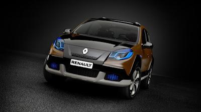 Renault Sandero Stepway Concept by Brazilian Designers