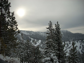 Snow near Lake Tahoe
