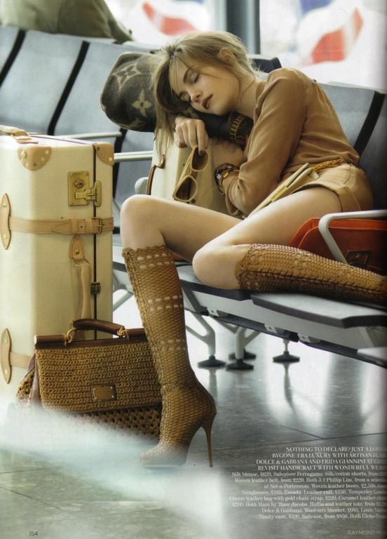 modnie w podróży