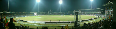 R Premadasa Cricket Stadium Panorama View Click on this and see