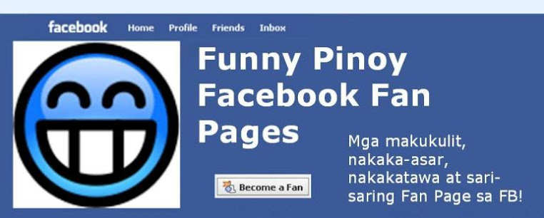 Funny Pinoy Facebook Fan Pages