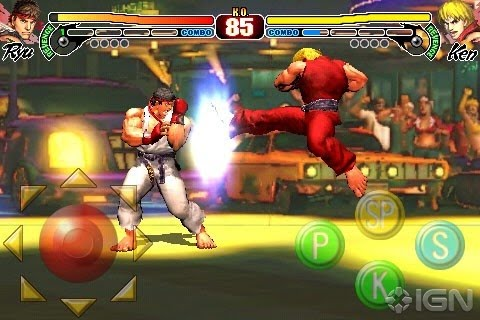 Street Fighter IV iPhone Video And Images