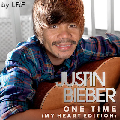 Manny Pacquiao As Justin Bieber - Manny Pacquiao Funny Pictures!
