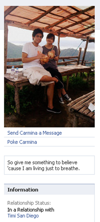 Carmina Topacio boyfriend