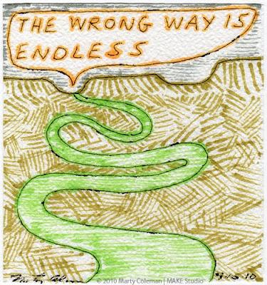 >The Wrong Way