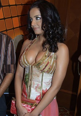 Celinas clevage in an event wallpapers